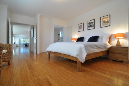 Beautiful timber floors and furnishings