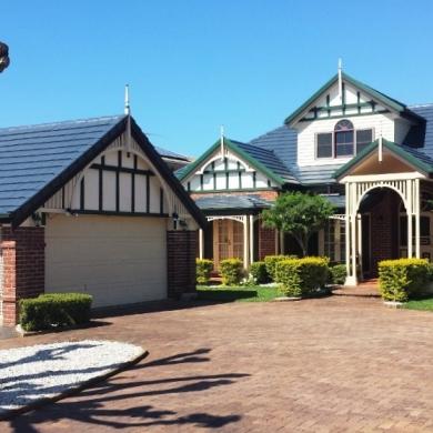 Country house facade