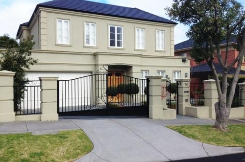 Classic victorian facade