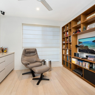 Large bookshelf for an organised space