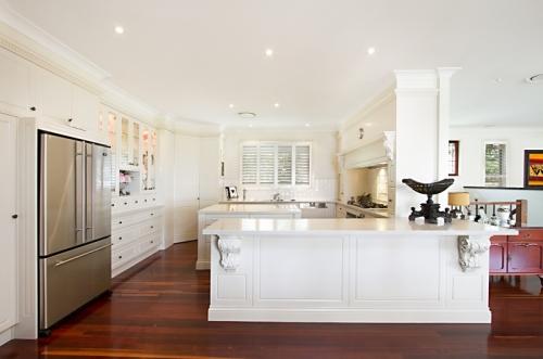 Modern Victorian style kitchen
