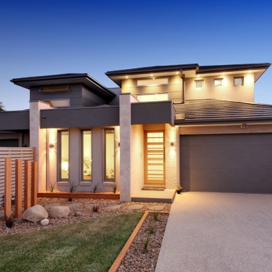 Outdoor lighting for facade