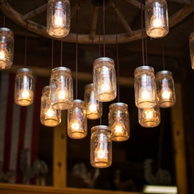 Creative mason jar lights