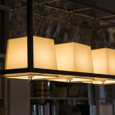 Unique pendant light design