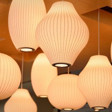 Creative hanging lights