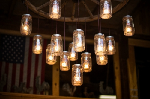 Creative mason jar lights
