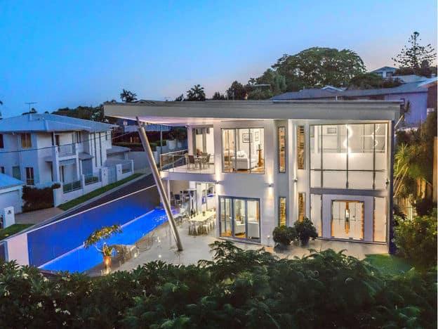 Architect Evan Pickering designed house