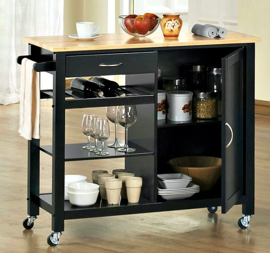 Mobile Kitchen Islands: Space Savers On Wheels
