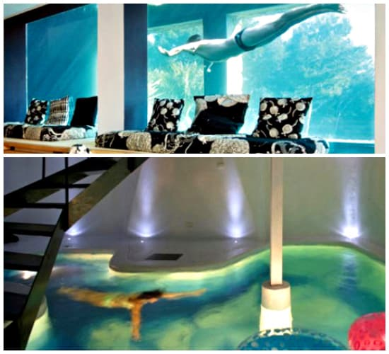 15 wonderfully weird ideas for a unique home for Swimming pool room ideas