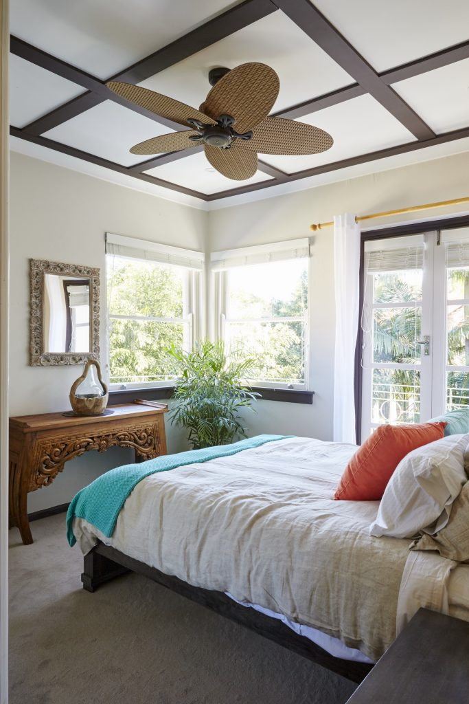 The Balinese style bedroom
