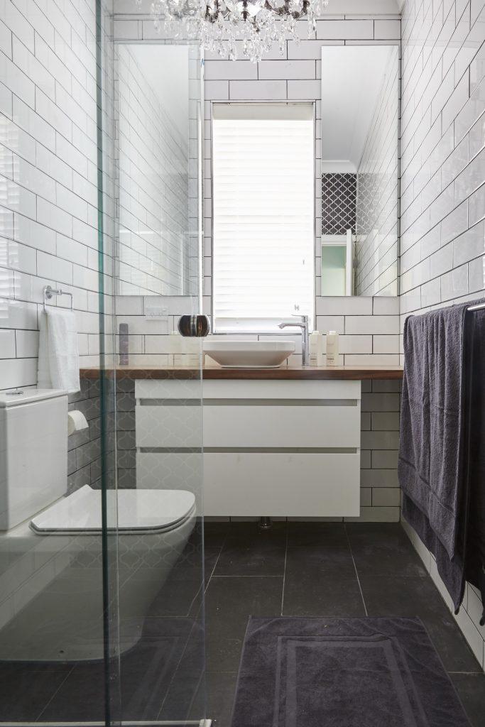 The Manhattan style bathroom