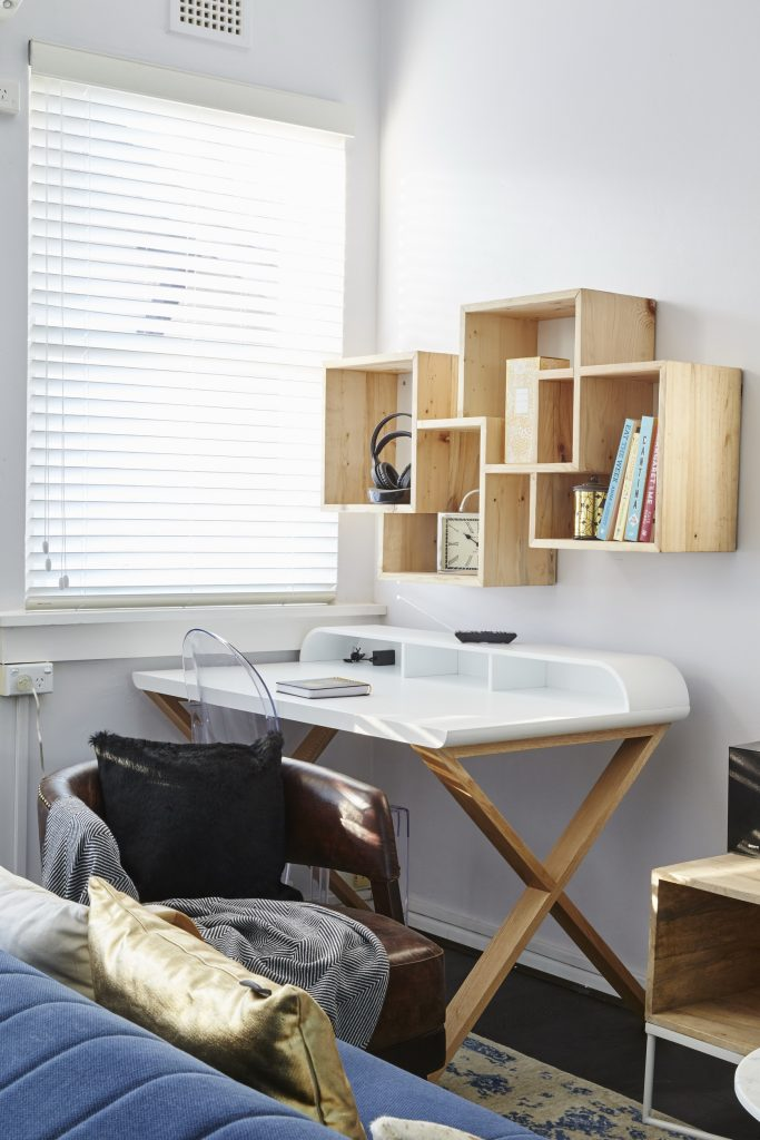 Claire & Hagan's clever storage solution