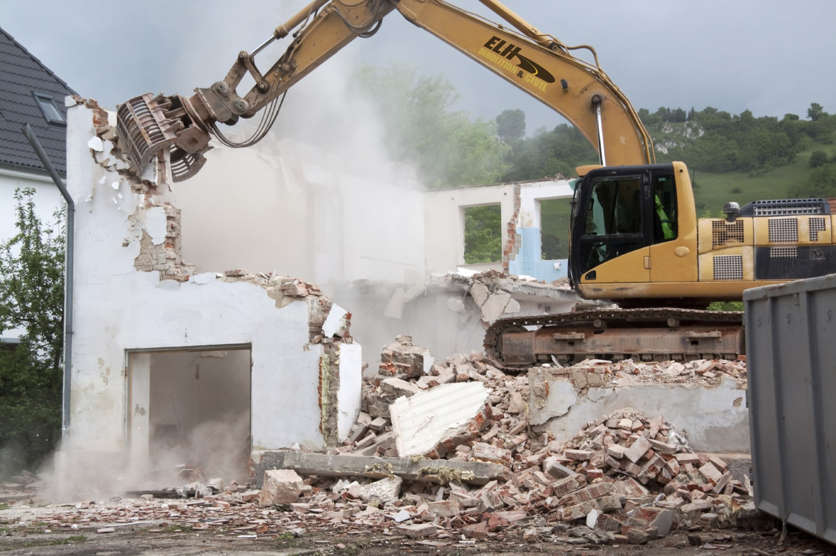 Photo from: ELH Demolition & Civil