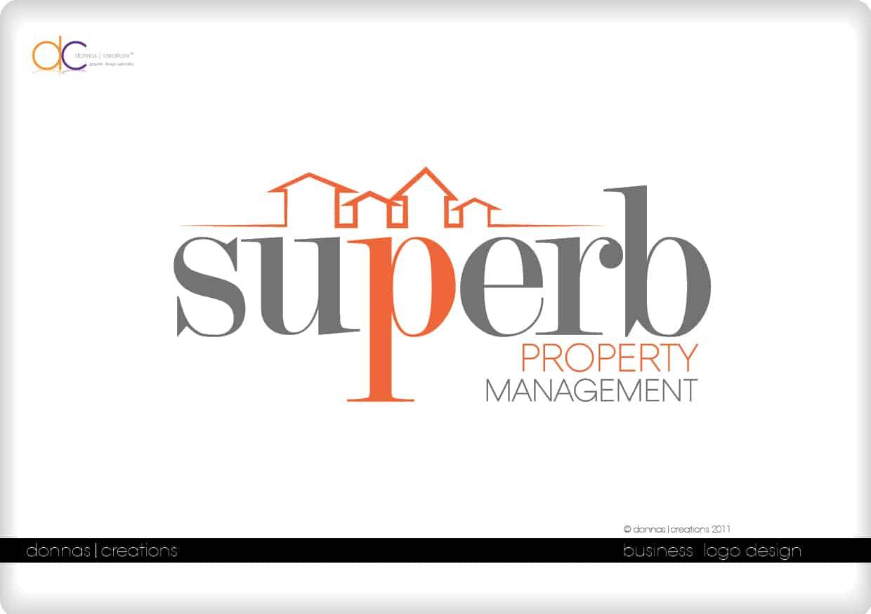 Superb property management logo