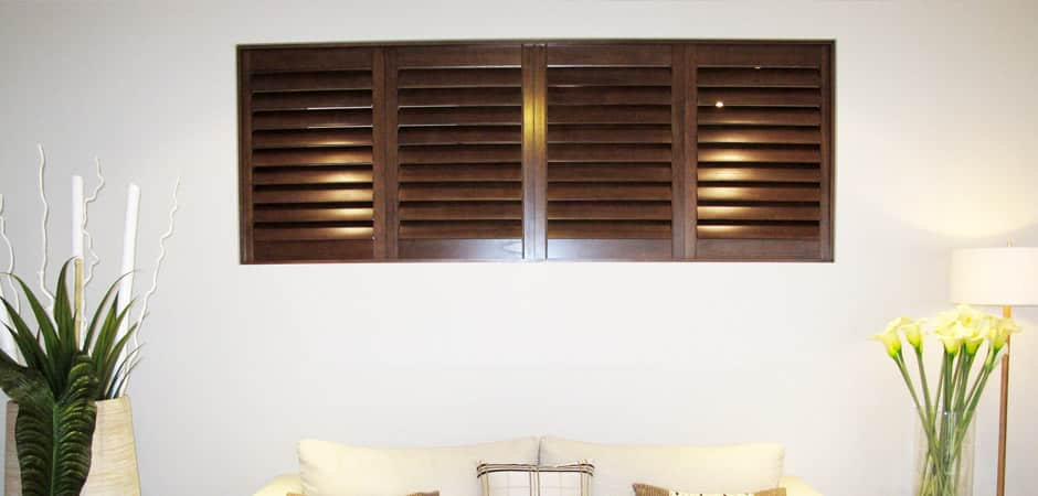 installation of shutters