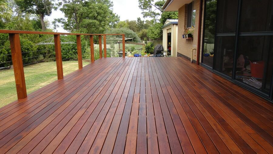 carpentry work includes decking