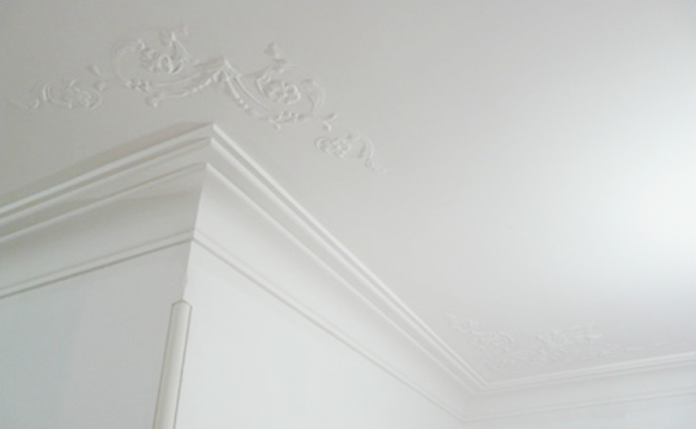 Ceiling refined interior linings