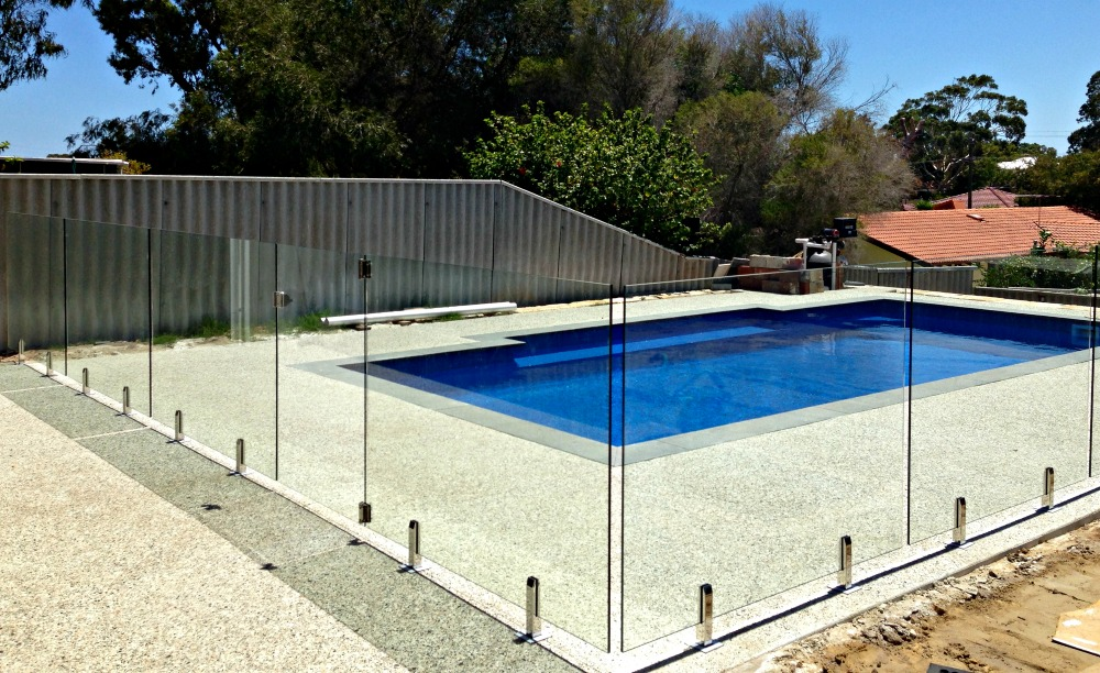 Fencing for Glass pool fences