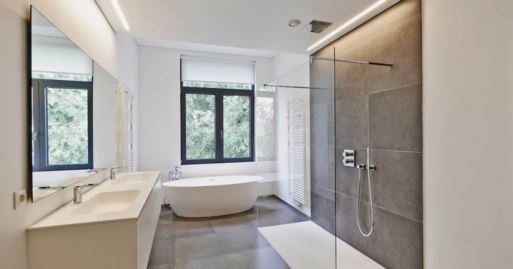 Cost Of Bathroom Renovations Real Quote Examples Stunning Complete Bathroom Renovation Cost Collection