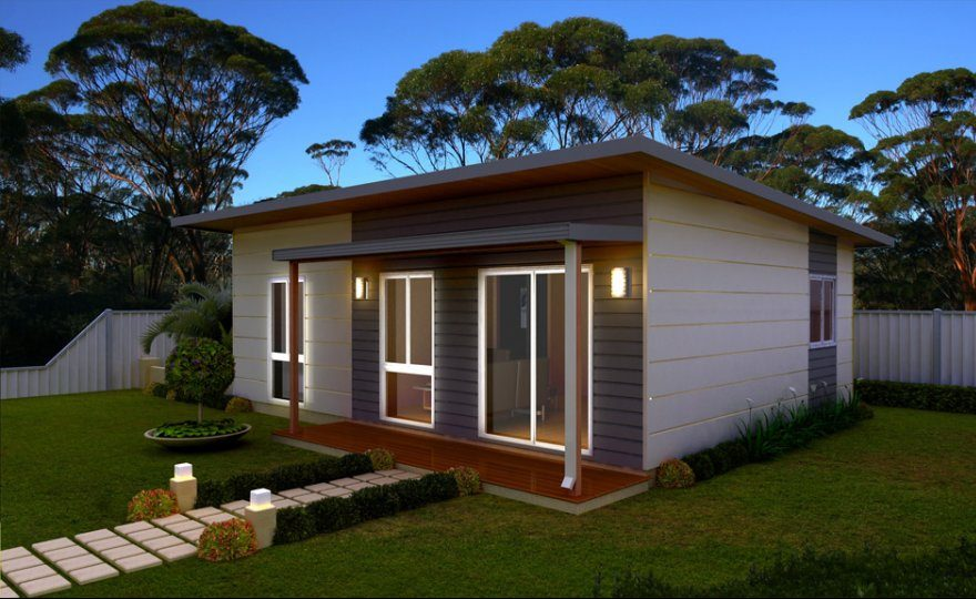 Granny Cottage Plans The Watkins 1 Bedroom Granny Flat Parkwood Homes