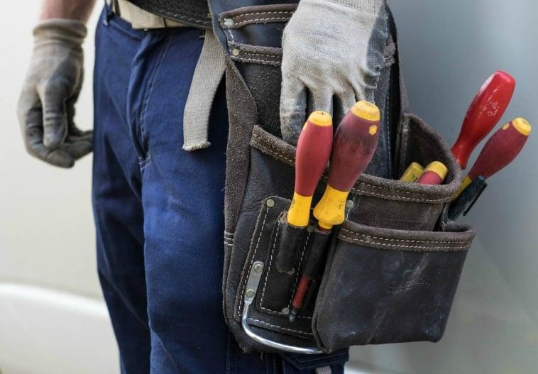 Home handiwork tradie and tools