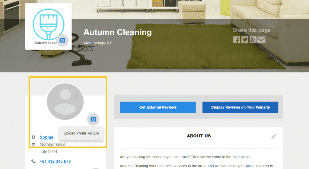 Autumn Cleaning Profile Picture