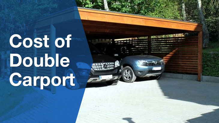 How much does a double carport cost?