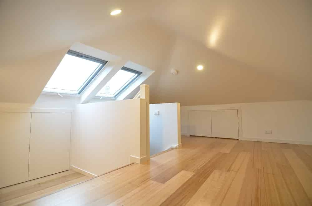 attic conversion space