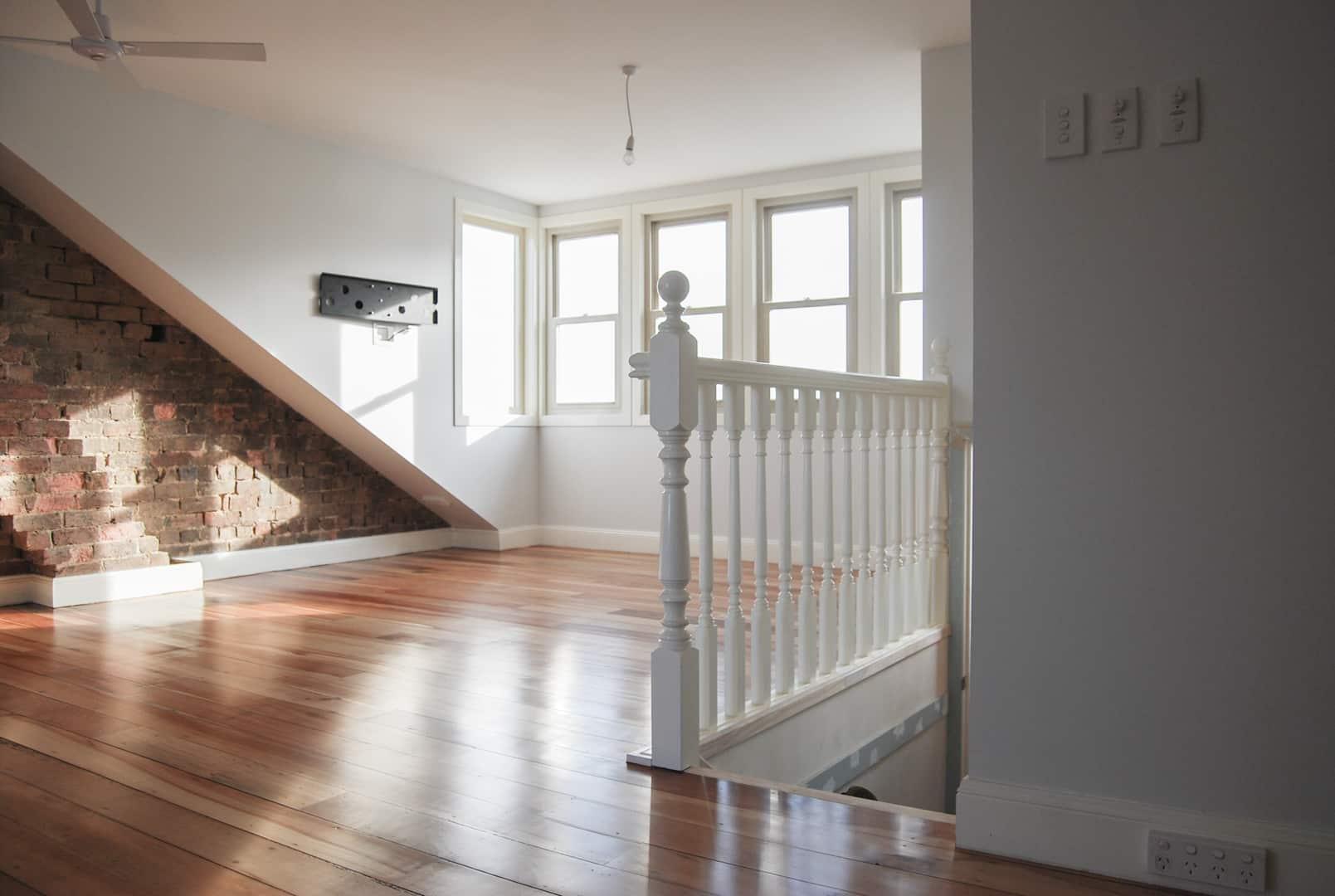 Habitable attic room