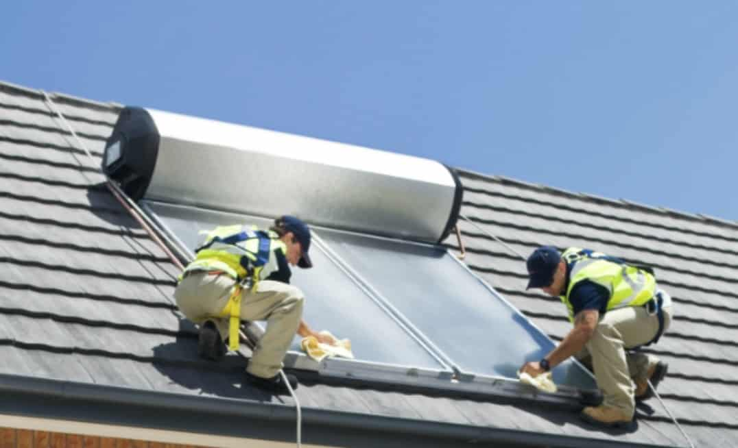 cost of installing solar hot water