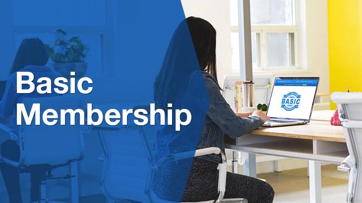 Basic Membership banner