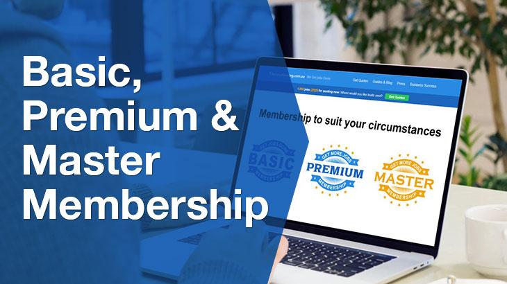 Basic Premium & Master banner