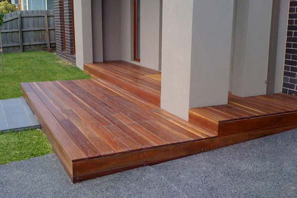 Built deck