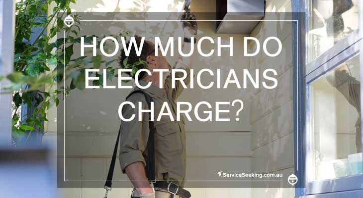 Electricians charges