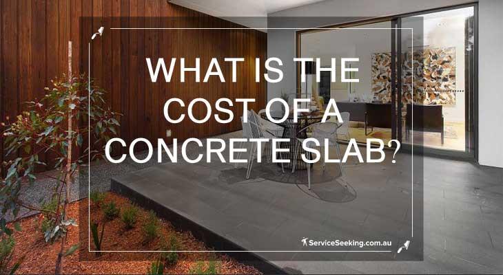 Cost of concrete slab