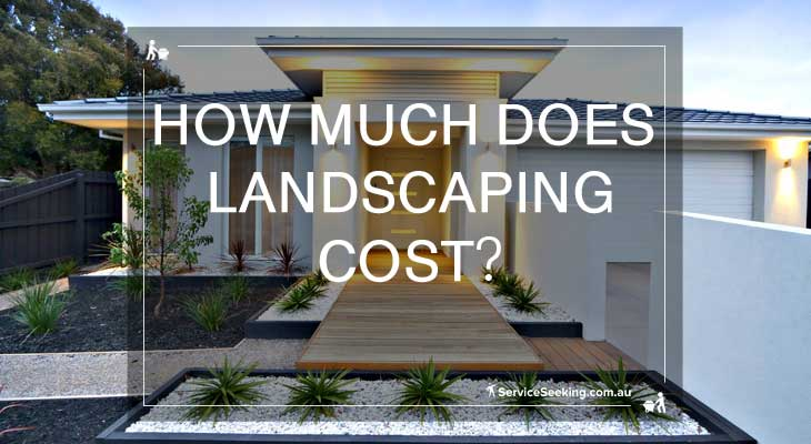 cost of landscaping hourly rates cost for new house