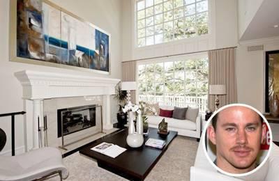 Channing Tatum's white paint colour scheme