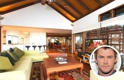 Chris Hemsworth paint colour scheme for home