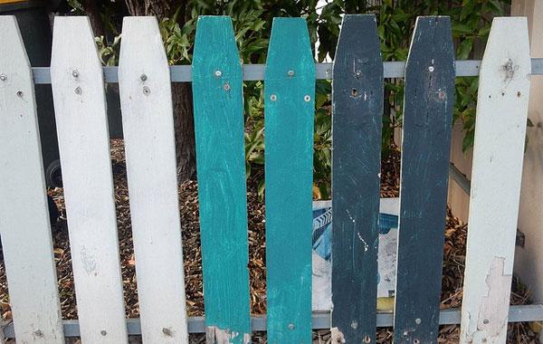 colour bond fence