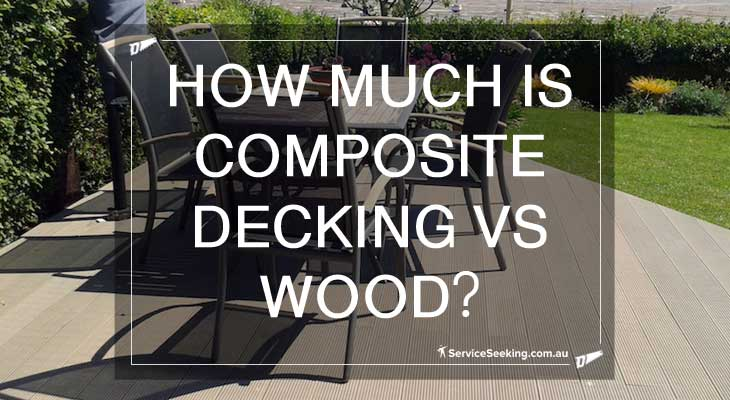 How much is composite decking vs wood?