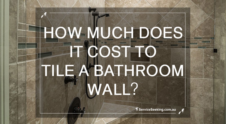 How much does ti cost to tile a bathroom wall?