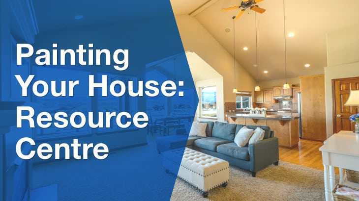 Painting your house: resource centre. Relaxing living room