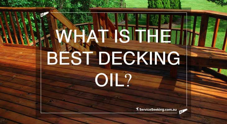What's the best decking oil?