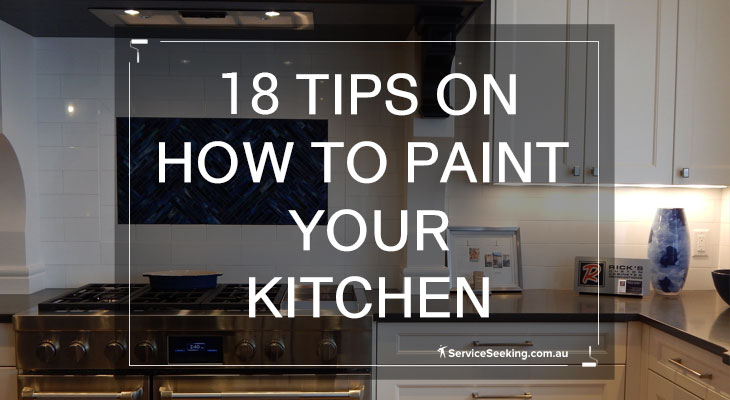 18 tips on how to paint your kitchen