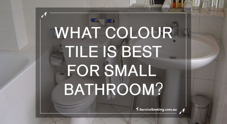 What colour is best for small bathroom?