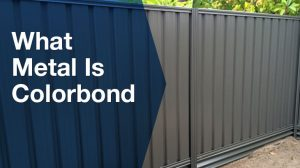 What metal is colorbond?