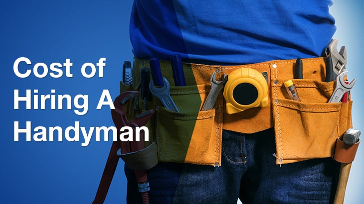 Cost of Hiring a Handyman - ServiceSeeking Price Guides