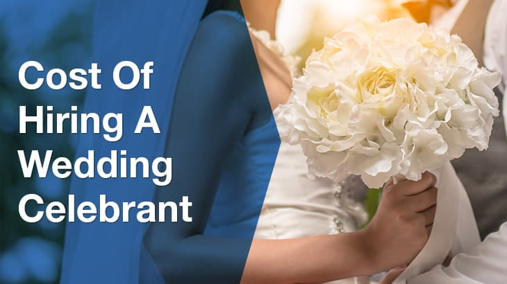 wedding celebrant banner
