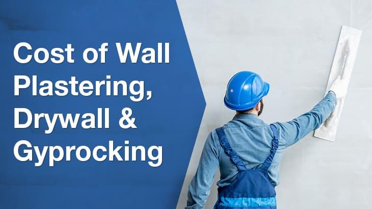 wall plastering banner