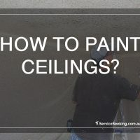 How to paint ceilings